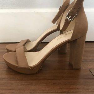 Nine West Dempsey Platform Sandals NWOT 7.5